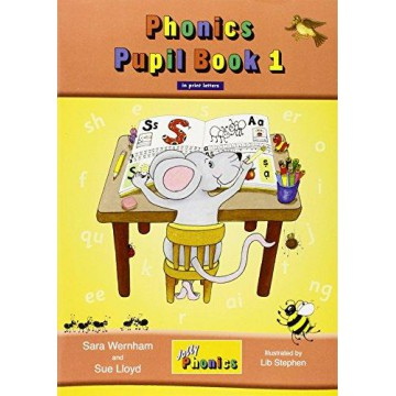 Jolly Phonics Pupil Book 1 Colour Edition - Print