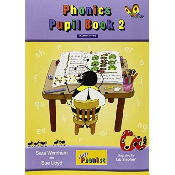 Jolly Phonics Pupil Book 2 Colour Edition - Print