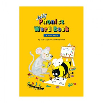 Jolly Phonics Word Book - Print